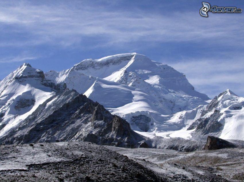 Cho Oyu, montagne innevate