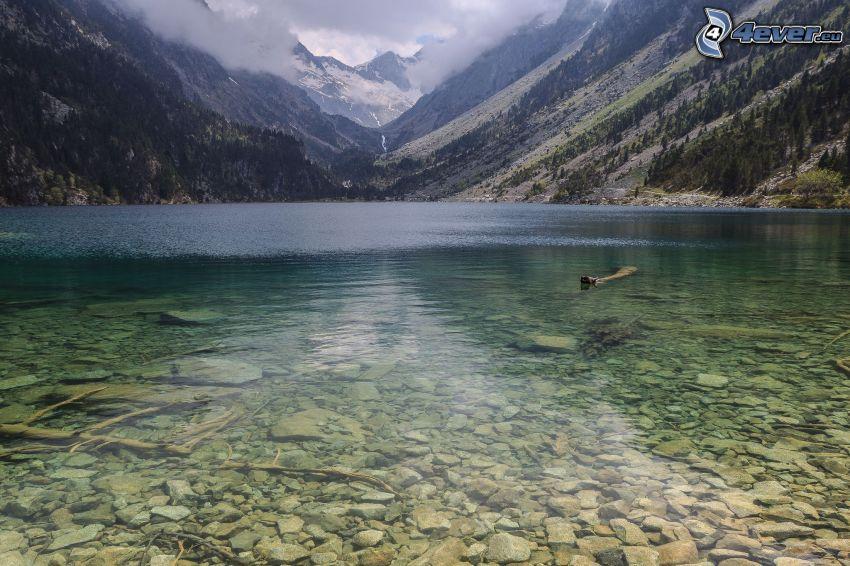 lago, montagne