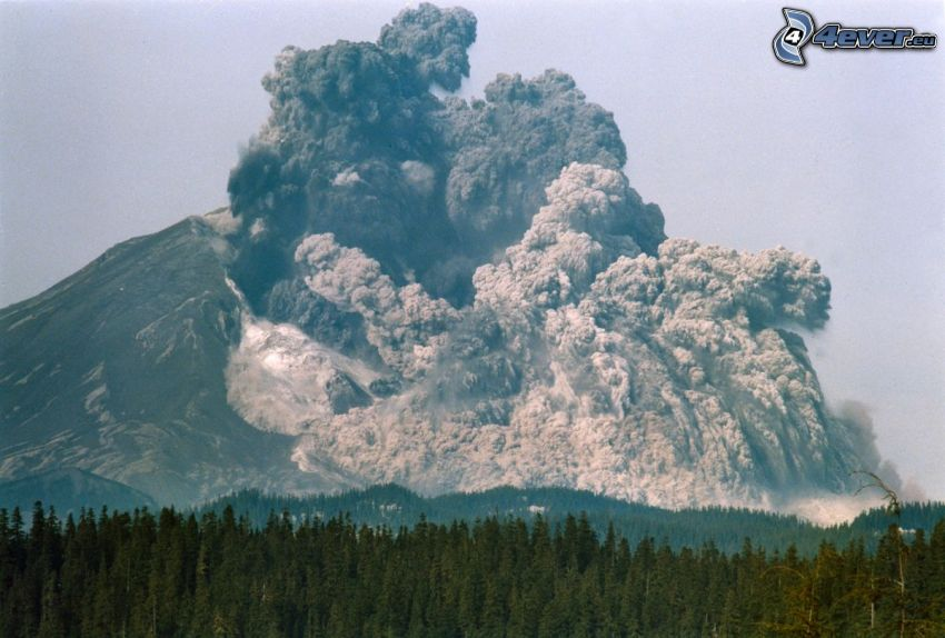 Saint Helens, eruzione