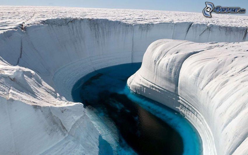 cannone, ghiaccio, Groenlandia