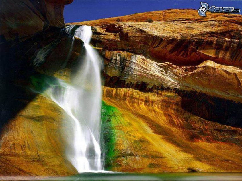 cascata, Turchia, rocce