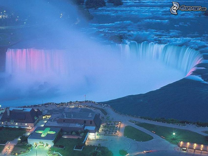Cascate del Niagara, vista aerea