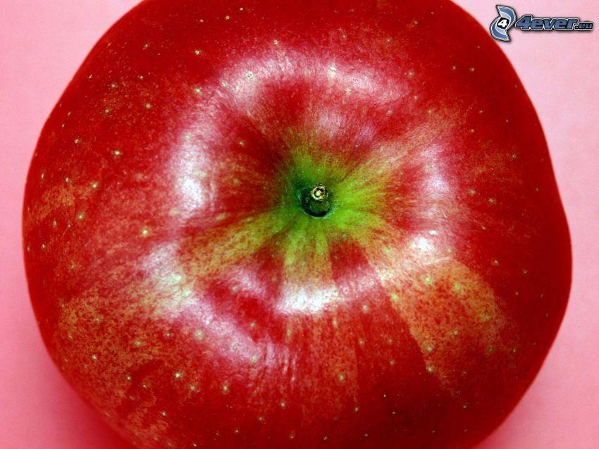 mela rossa, frutta