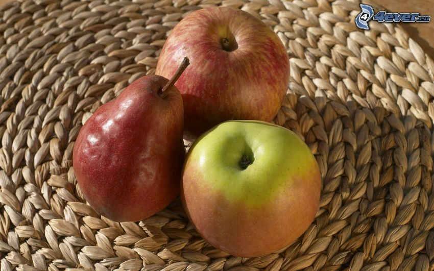 mele, pera