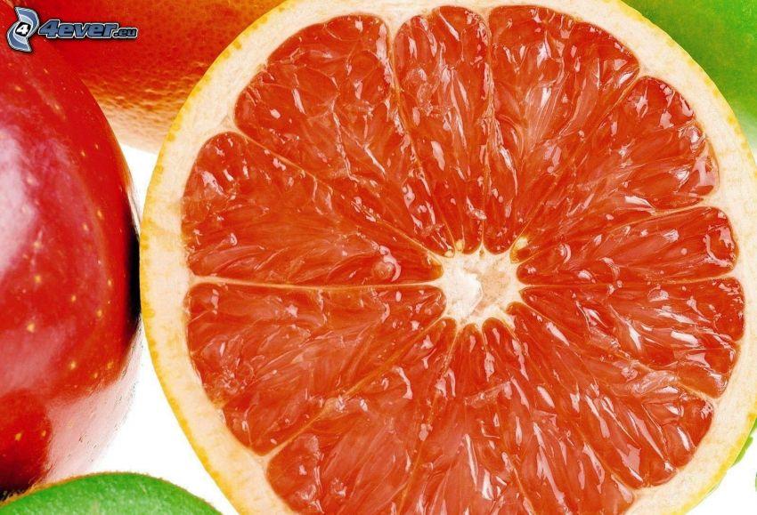 pompelmo, frutta