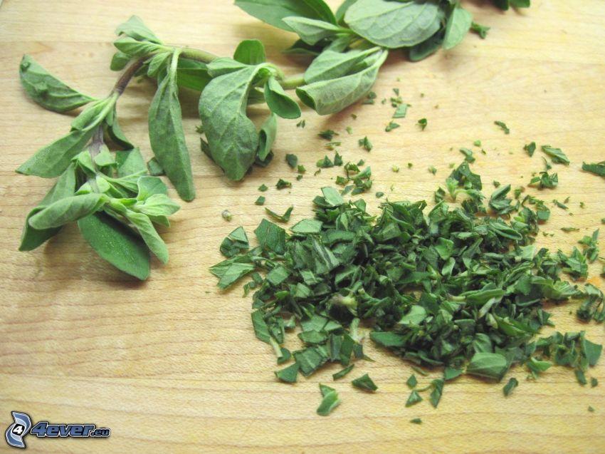 origanum vulgare, erbe