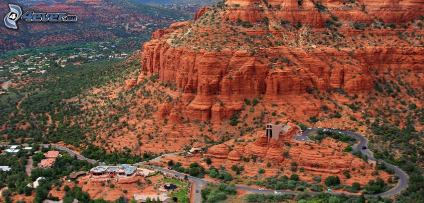 Sedona - Arizona, Monument Valley, rocce, strada
