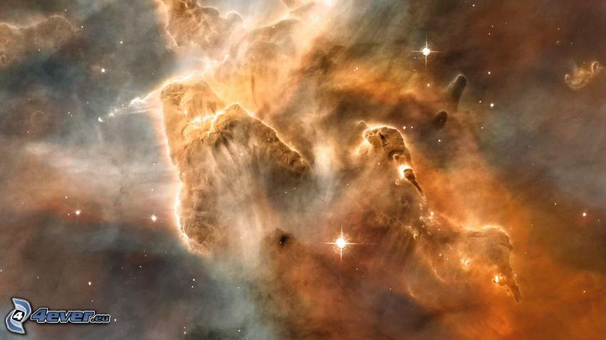 Eta Carinae, nebulosa, NGC 3372, stelle