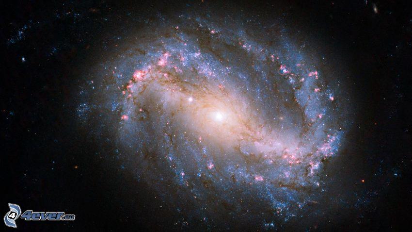 galassia spirale barrata