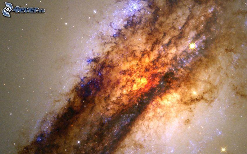 Il centro della galassia Centaurus A, NGC 5128, stelle