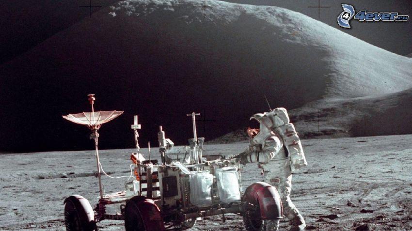 James Benson Irwin, astronauta, Luna, Lunar Roving Vehicle LRV