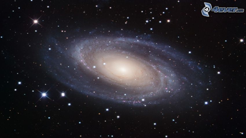 M81, galassia spirale, Nebulosa Granchio