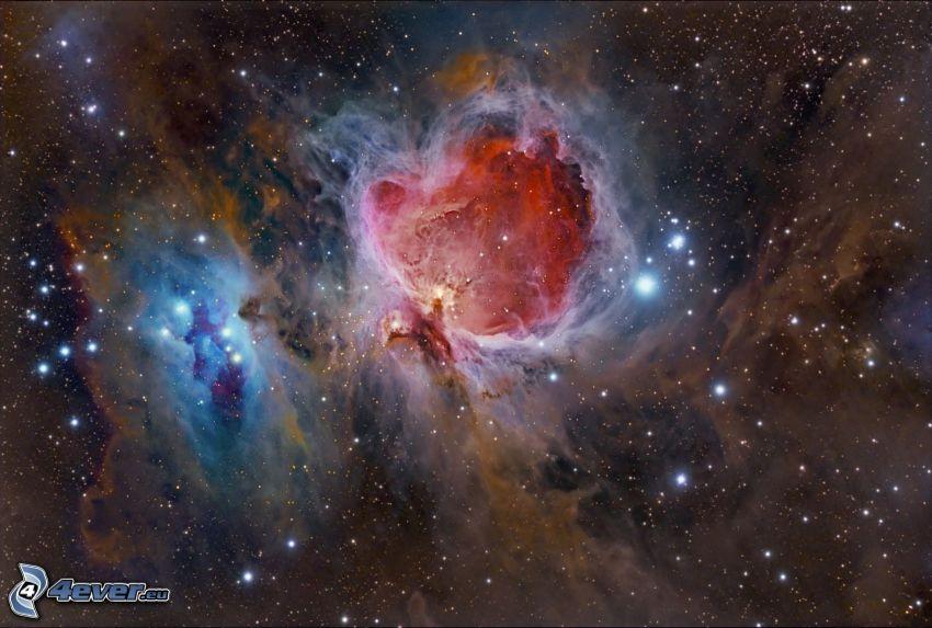 Nebulosa di Orione, stelle