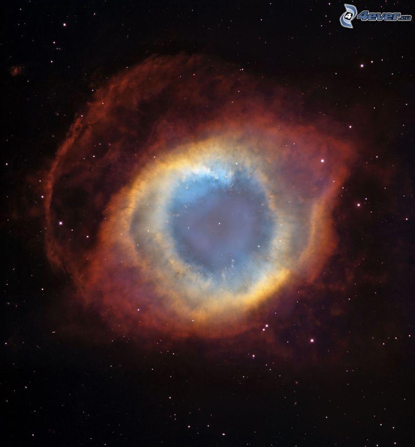 nebulosa Elica, stelle