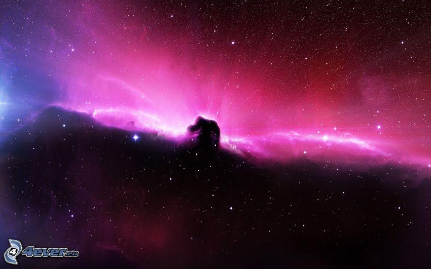 Nebulosa Testa di Cavallo, Via Lattea