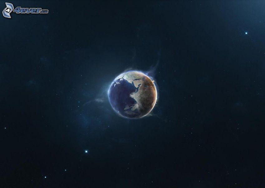 pianeta Terra, stelle