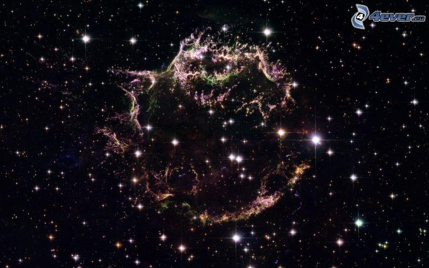 supernova planetario, stelle