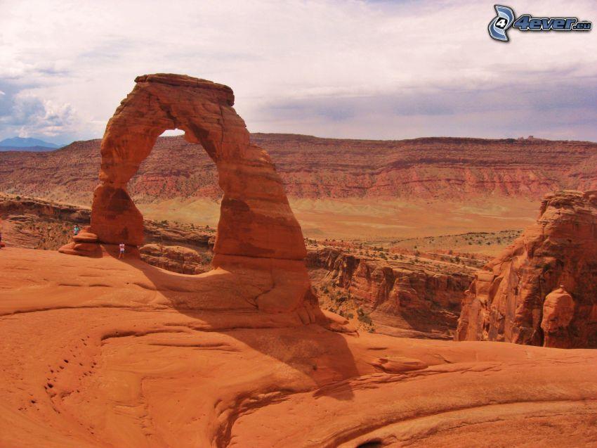 Utah National Park, porta rocciosa
