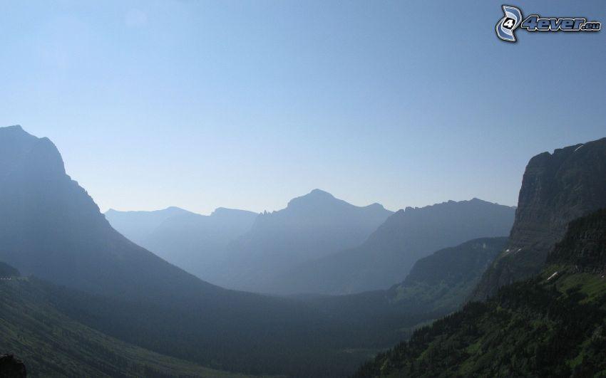 valli, montagne