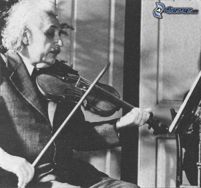 Albert Einstein, violino