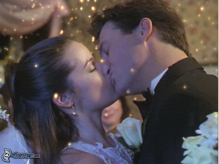 amore, bacio