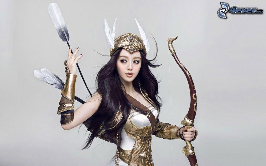 guerriera, cosplay