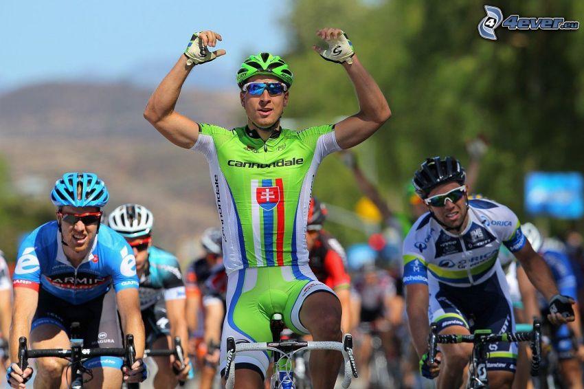 Peter Sagan, ciclisti