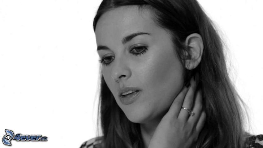 Amelia Warner, foto in bianco e nero