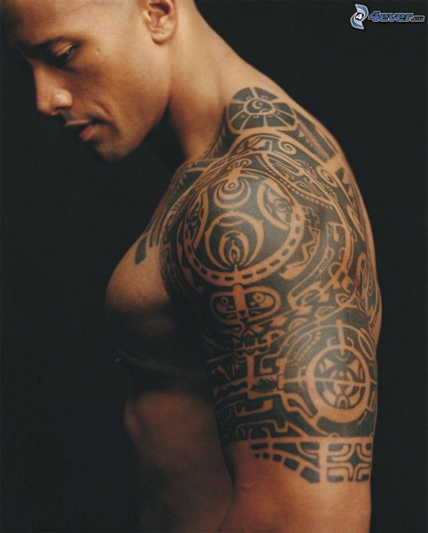 Dwayne Johnson, tatuaggio