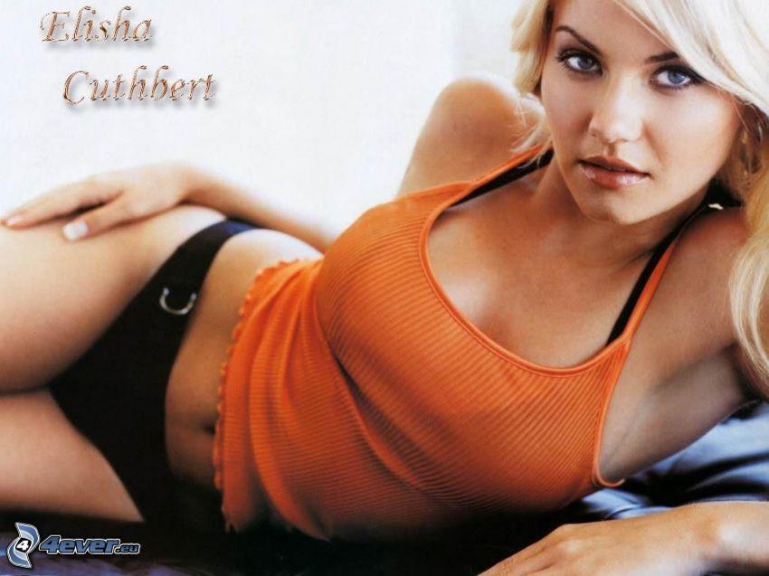 Elisha Cuthbert, La ragazza della porta accanto, Cat Tale, My Sassy Girl, bionda, lingeria nera
