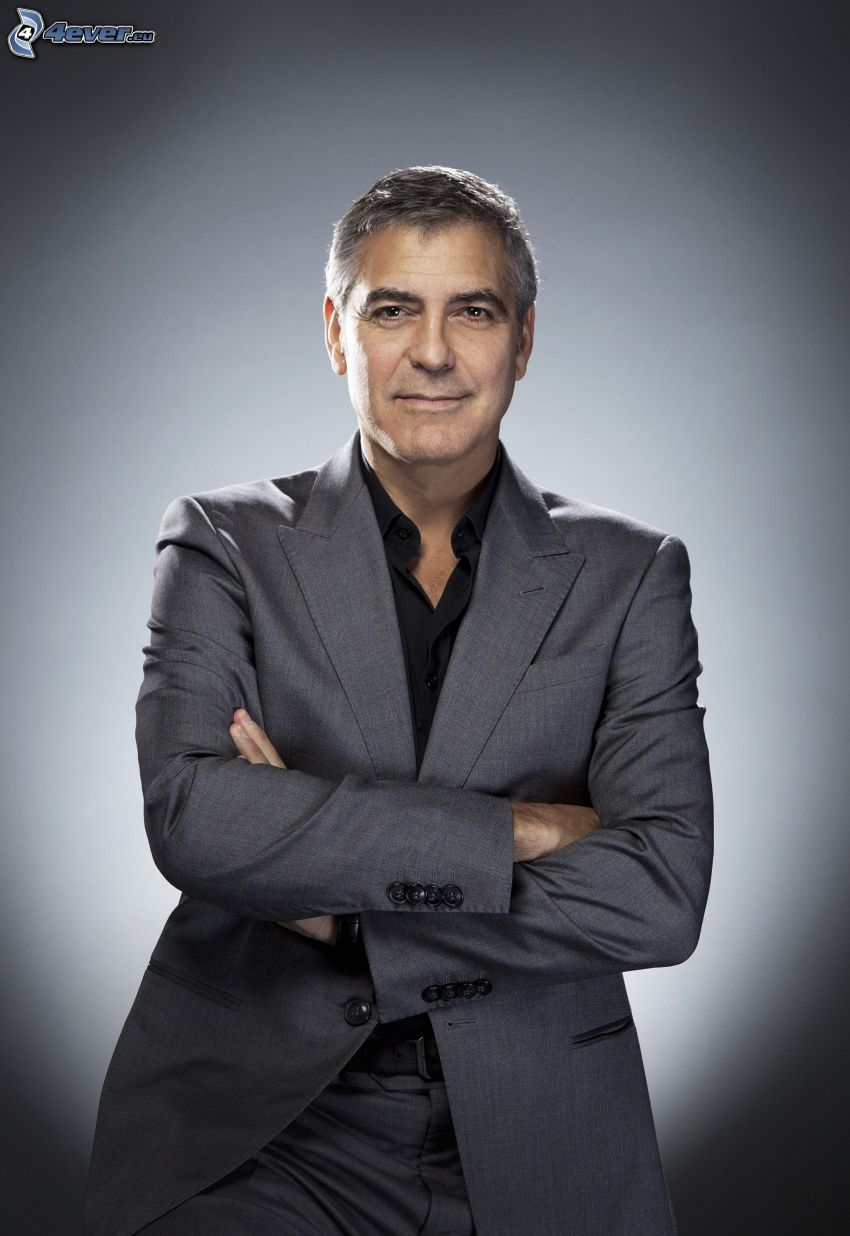 George Clooney, giacca