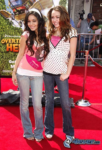 Hannah Montana, Vanessa Hudgens, Miley Cyrus, High School Musical, Gabriella Montez