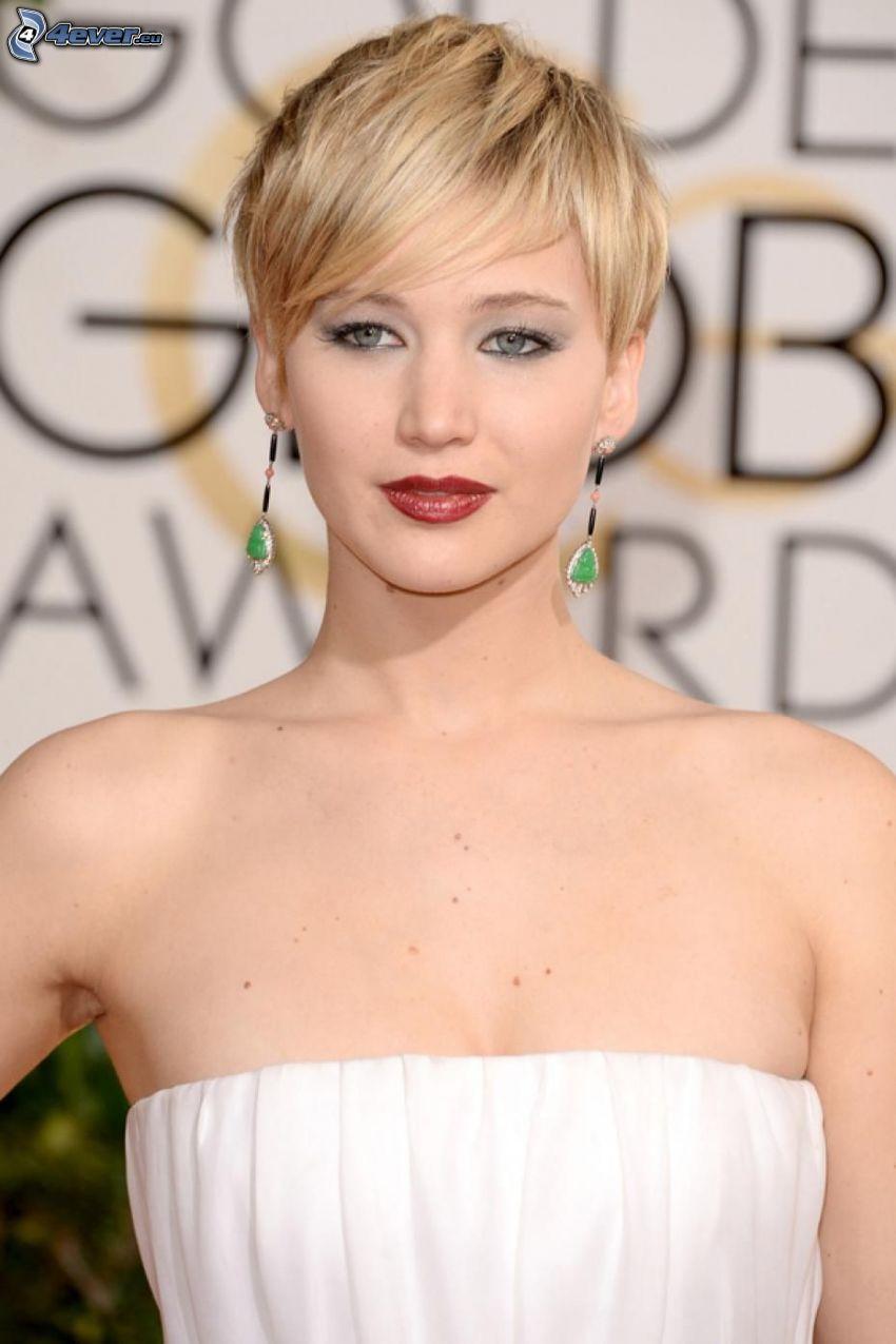 Jennifer Lawrence, capelli corti