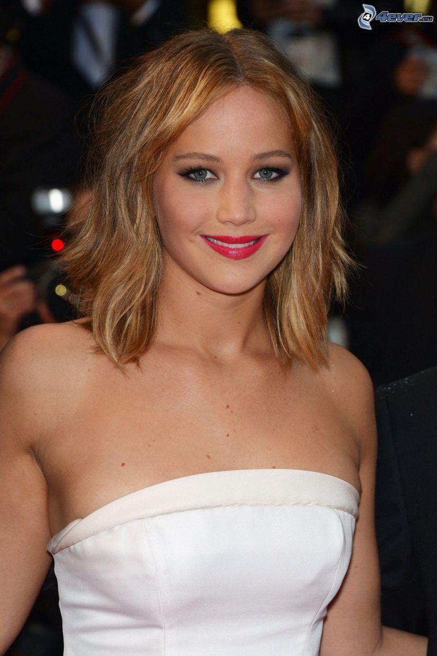Jennifer Lawrence, sorriso