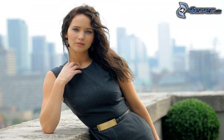 Jennifer Lawrence, vista della città