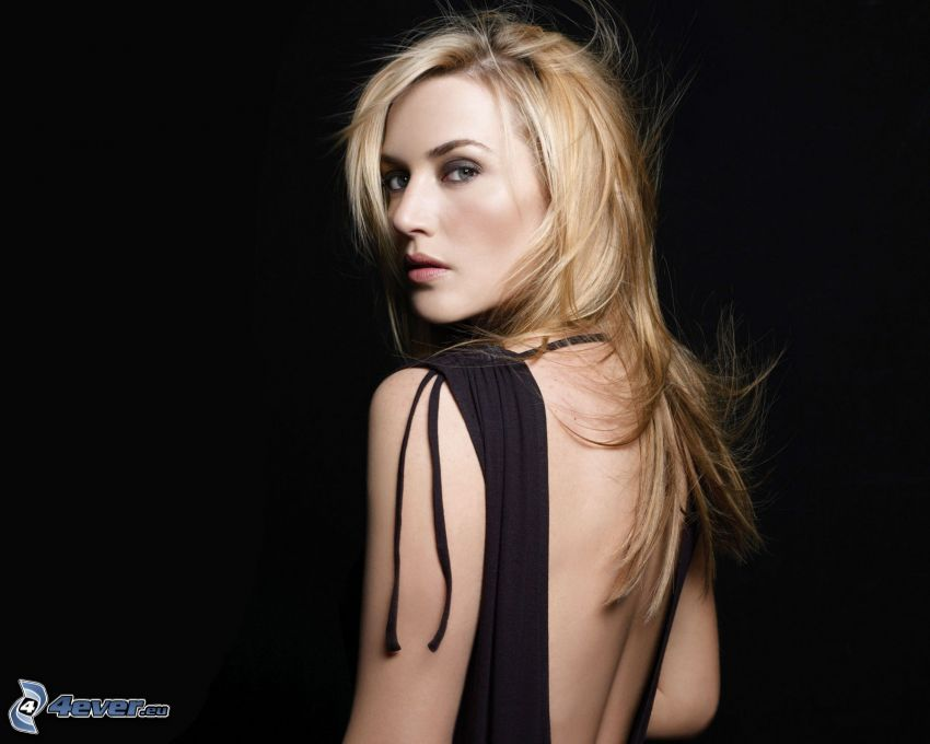 Kate Winslet, abito nero