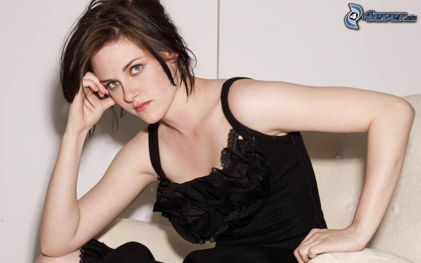 Kristen Stewart, abito nero