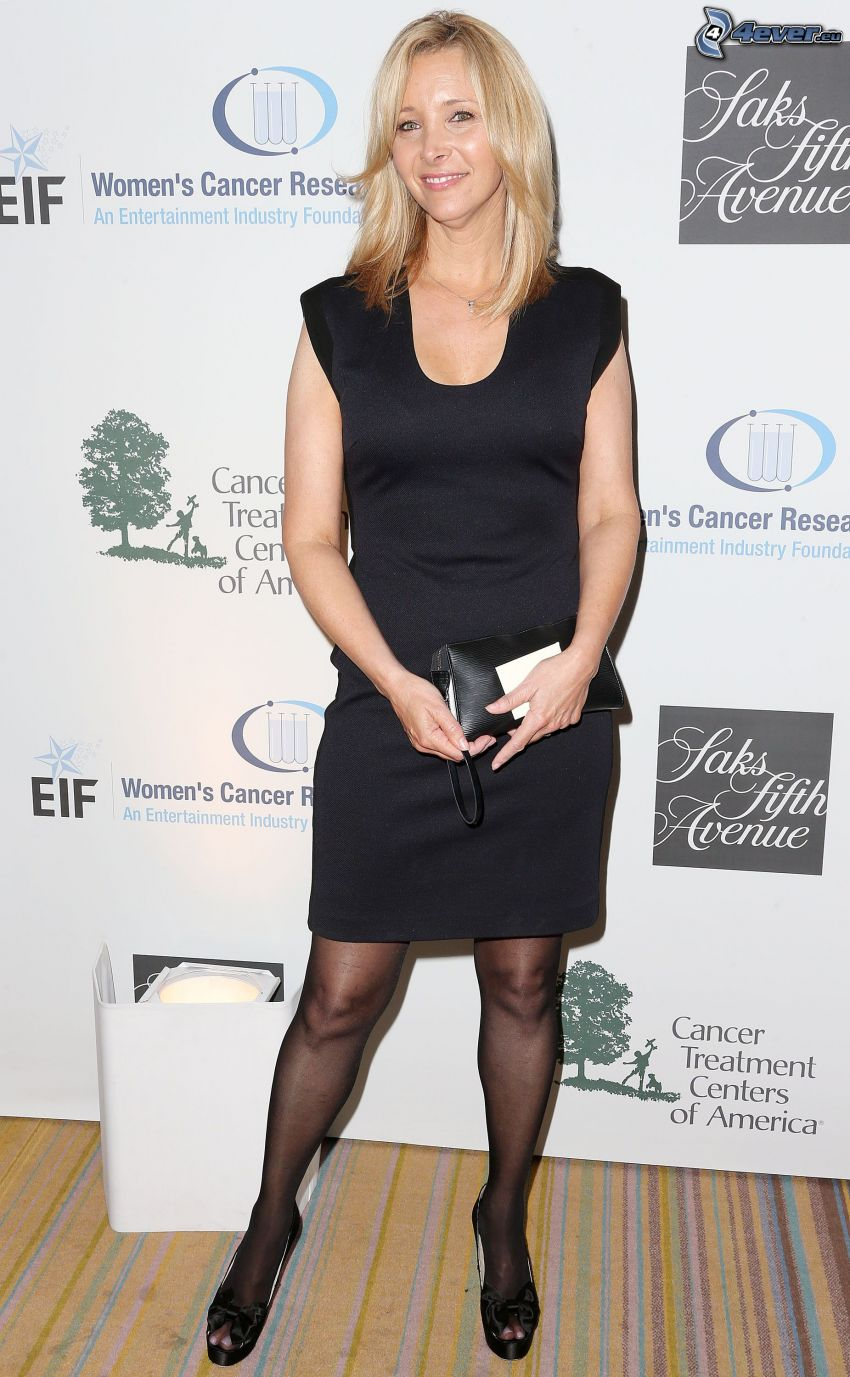 Lisa Kudrow, abito nero