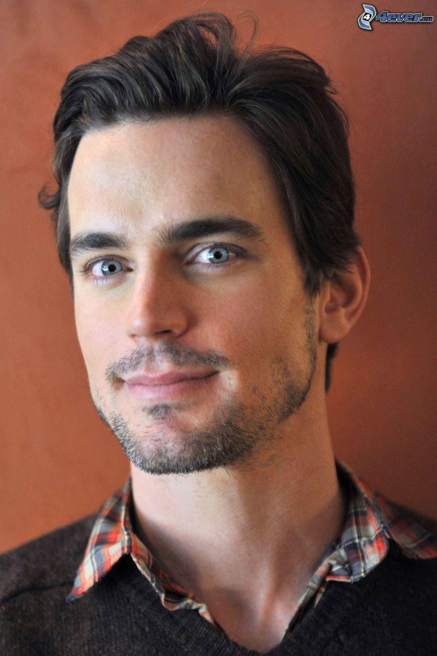 Matt Bomer, occhi azzurri