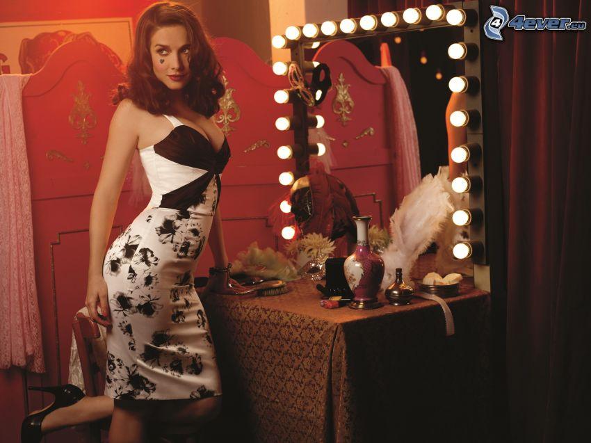Natalia Oreiro, specchio