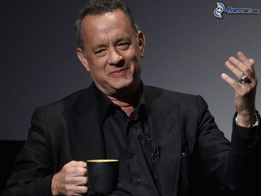 Tom Hanks, tazza