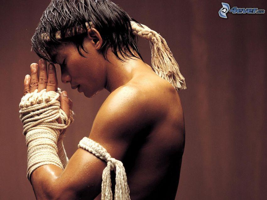 Tony Jaa, guerriero, kung fu