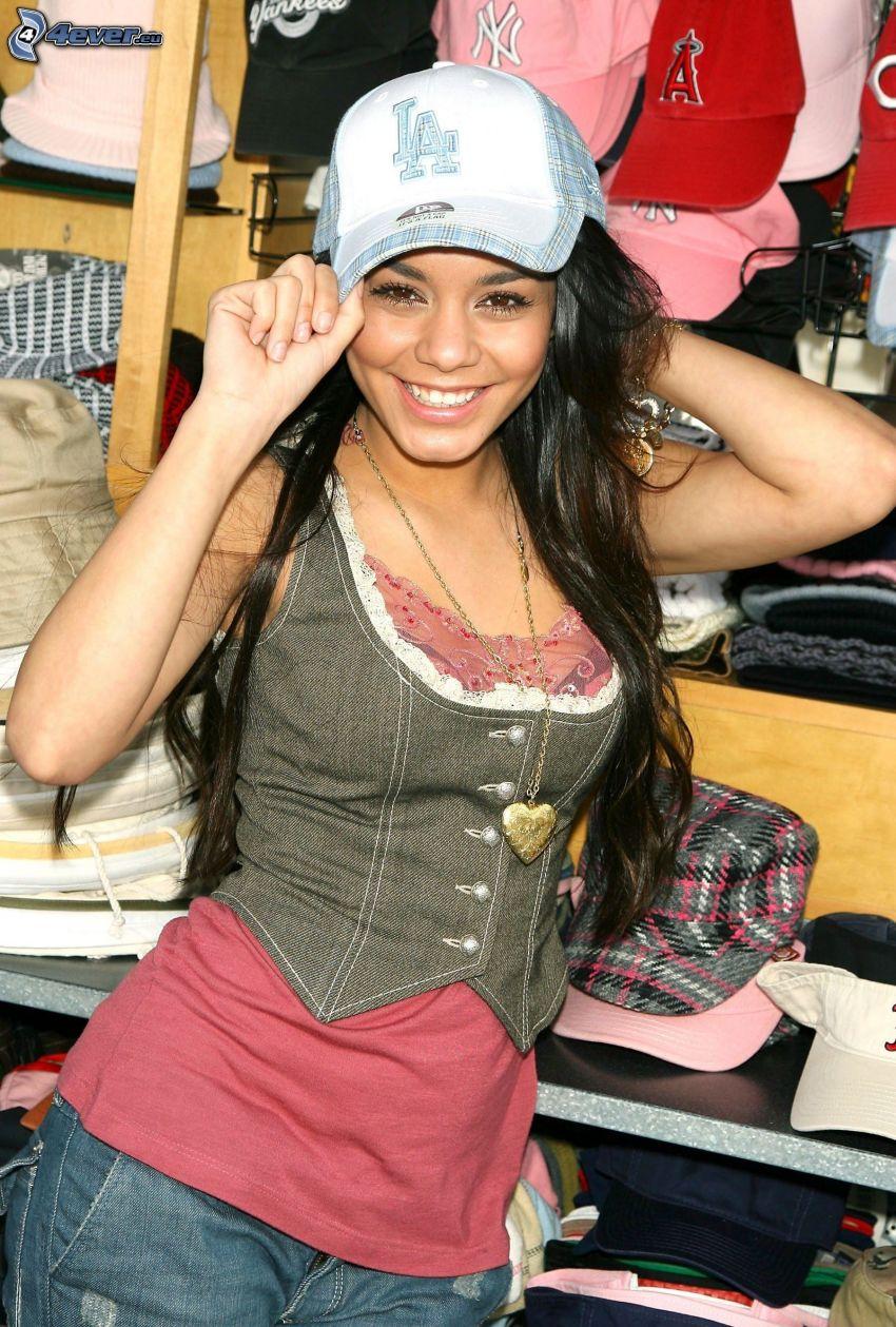 Vanessa Hudgens, baseball caps
