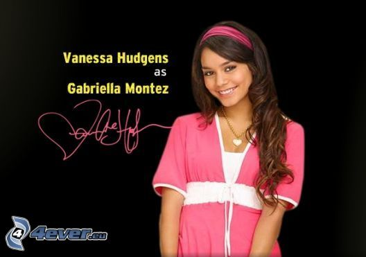 Vanessa Hudgens, High School Musical, Gabriella Montez