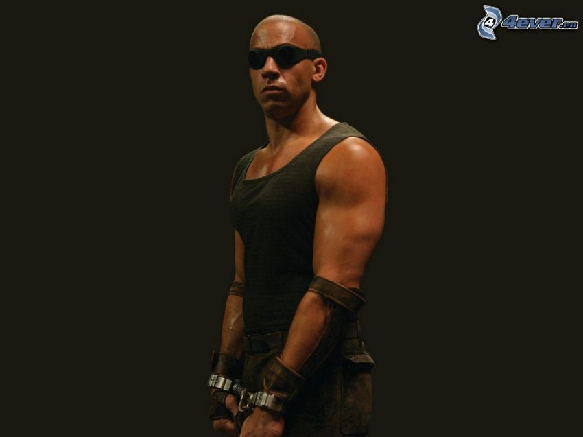 Vin Diesel, occhiali