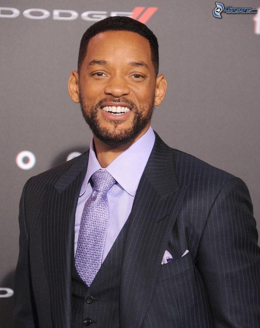 Will Smith, uomo in abito