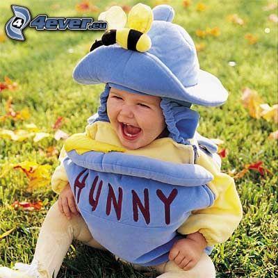 bambino, costume