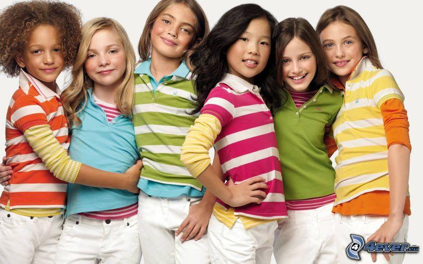 ragazze, modelle