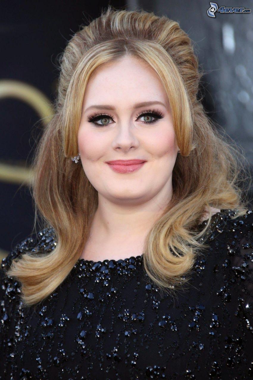 Adele, sorriso