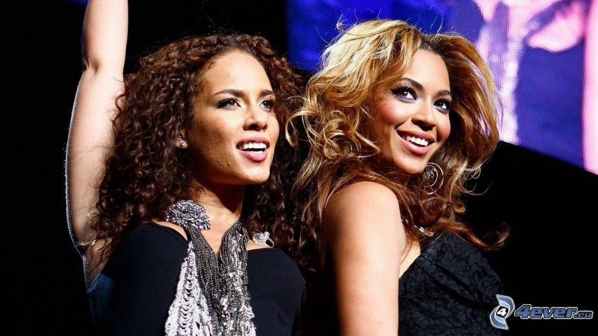 Alicia Keys, Beyoncé Knowles